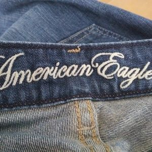 American Eagle Outfitters Jeans - American Eagle 77 Straight Dark Wash Blue Jeans